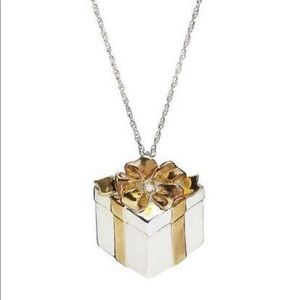 Lenox A Gift For Mother Silver Diamond Necklace